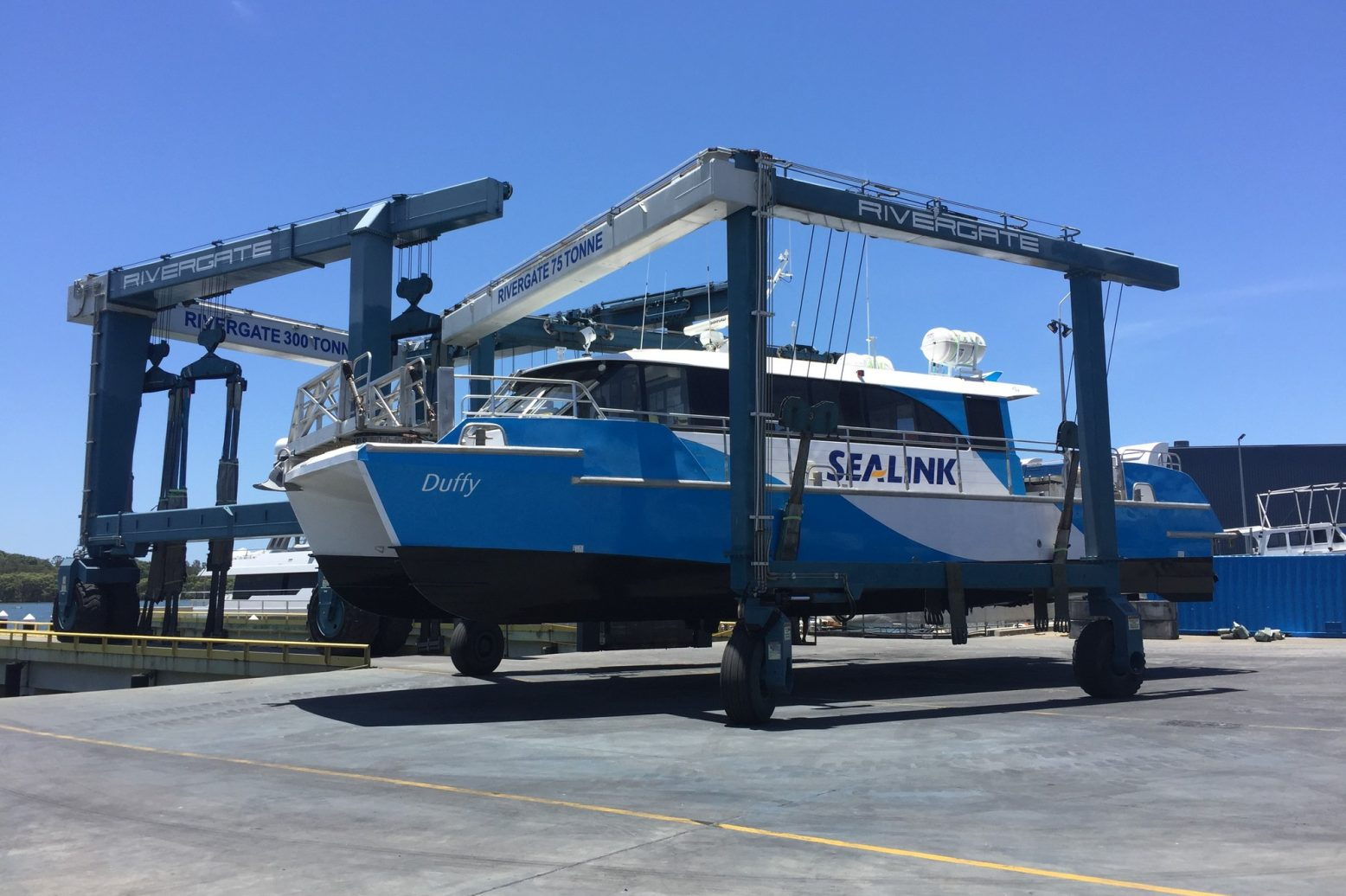 passenger ferry refit travel lift sealink