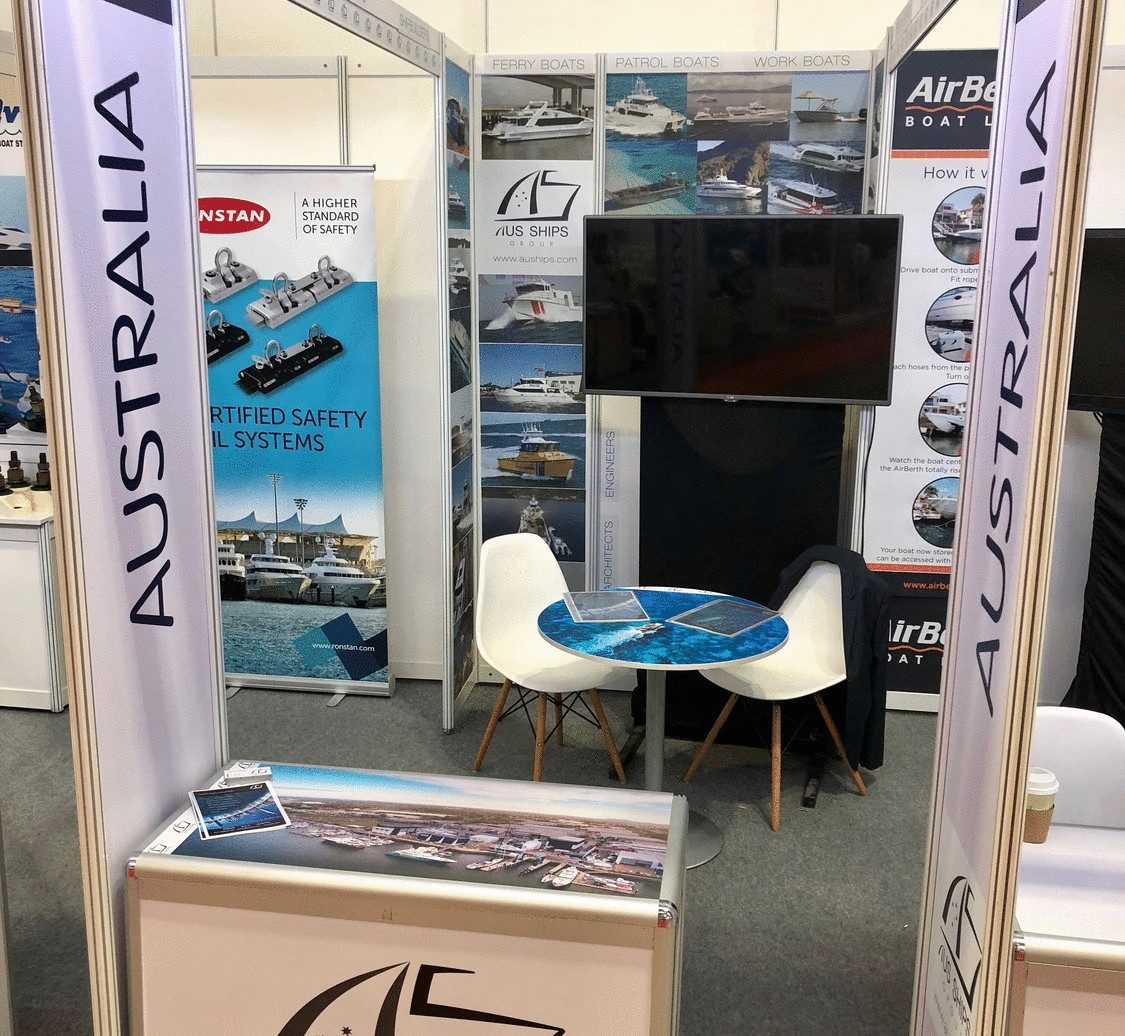 asia pacific maritime 2018 stand