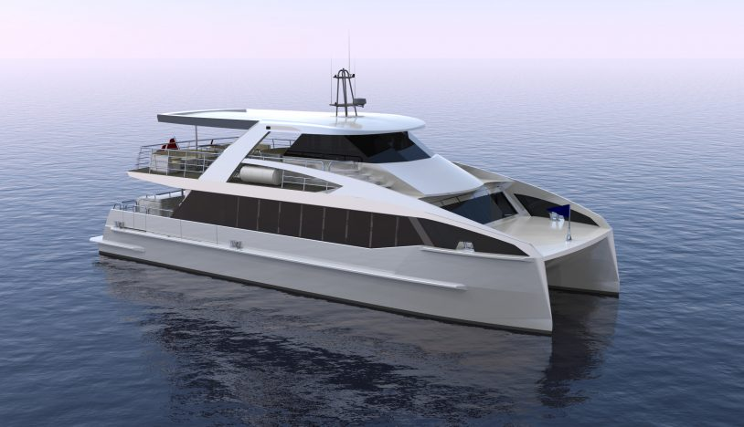 luxury passenger ferry concept render 2018